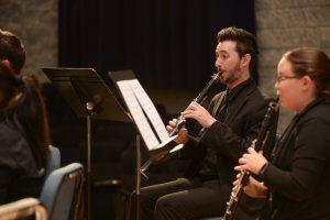 Clarinet Studio on Stage